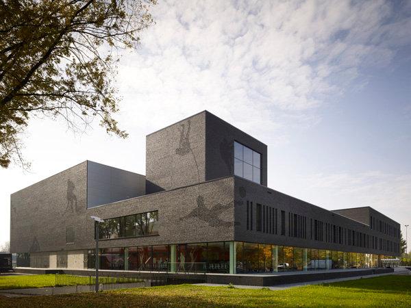 Спортивный колледж Fontys (Нидерланды). Бюро Mecanoo International