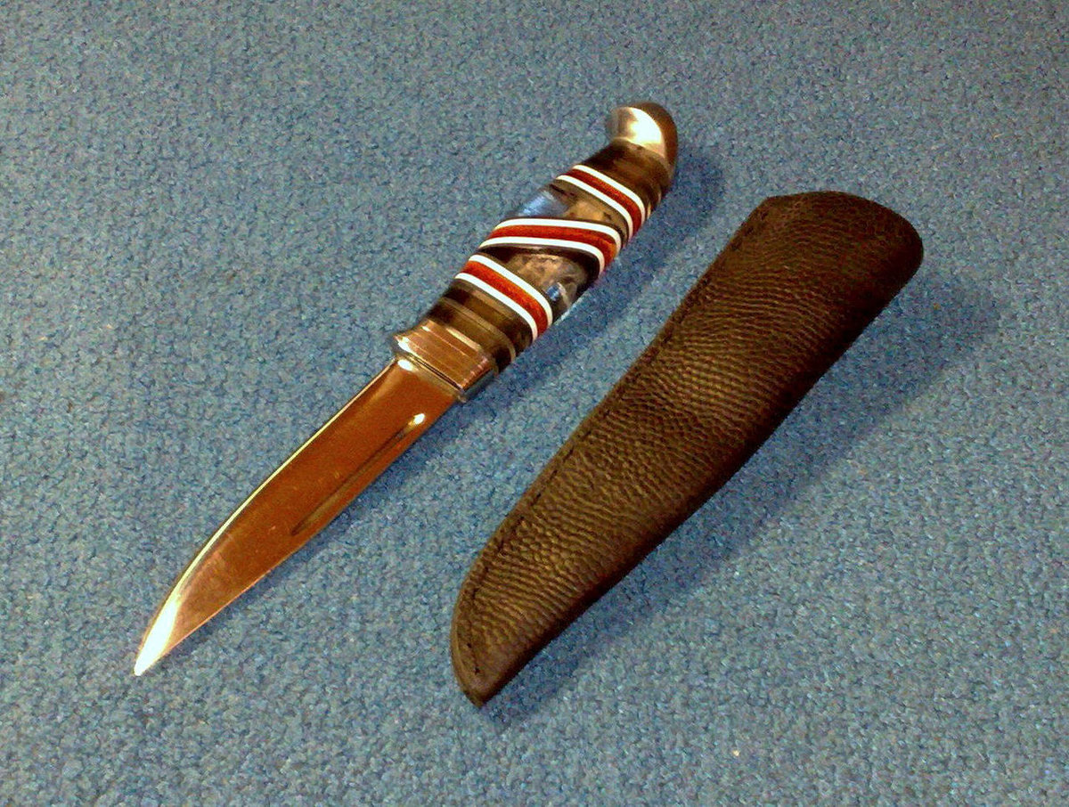 Рукоятка ножа из пробки своими руками