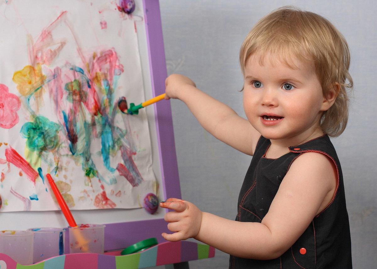 Как дети рисуют картинку, стихах дяде