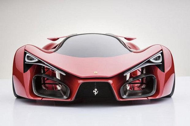 Супер-кар Ferrari F80
