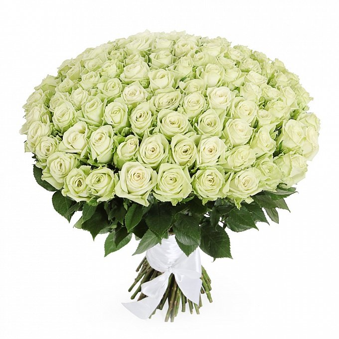 Букет белых роз днепропетровская, подарок николаеве