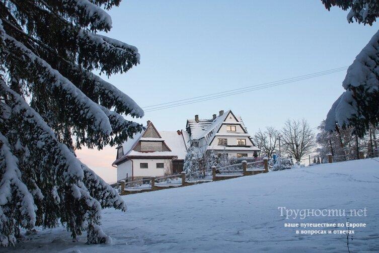 Закопане: Горнолыжный курорт в Польше