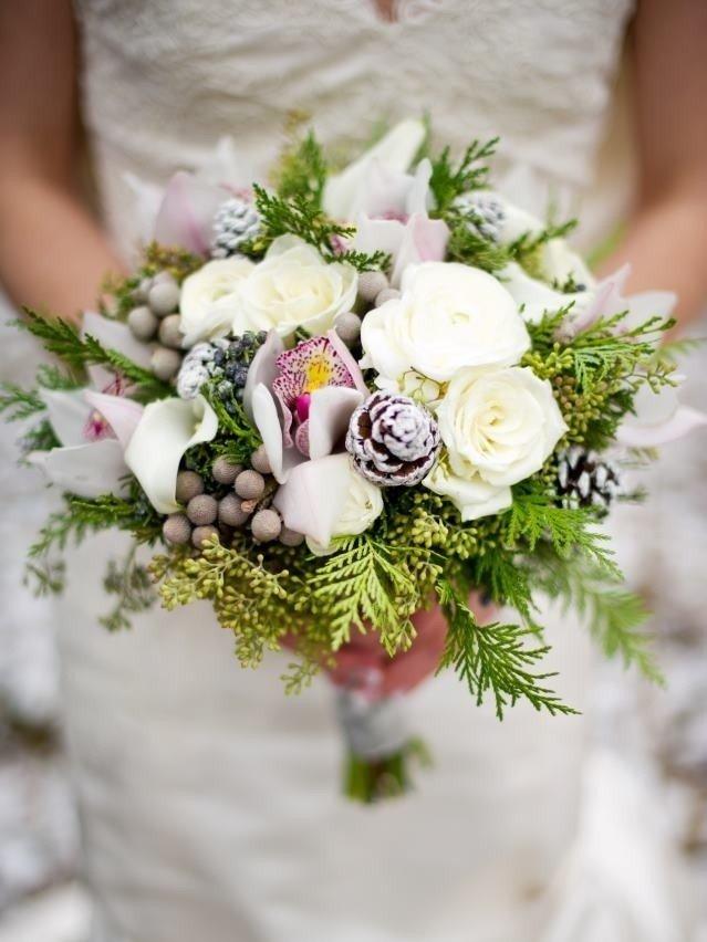 Идеи для зимний букет невесты своими руками, букеты авито заказ