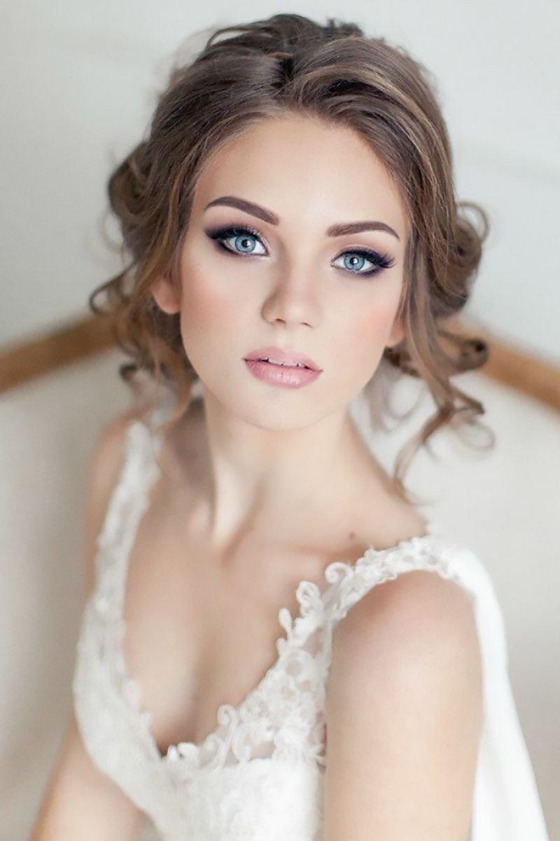 Яркий макияж - для яркой невесты 59