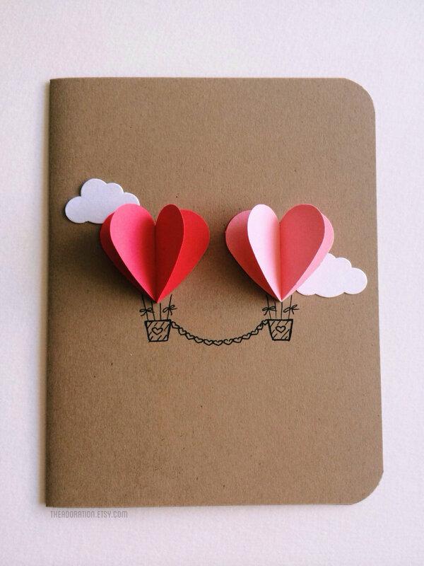 14 февраля день влюбленных открытка своими руками