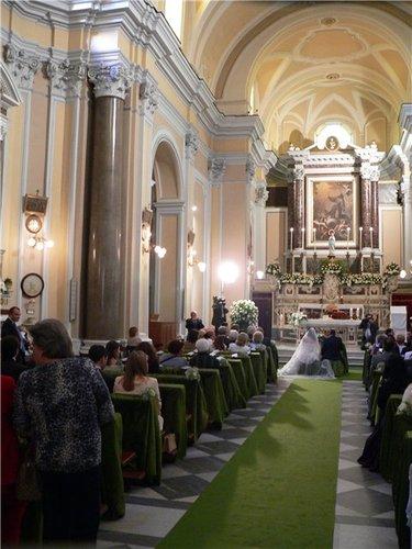католическое венчание в италии