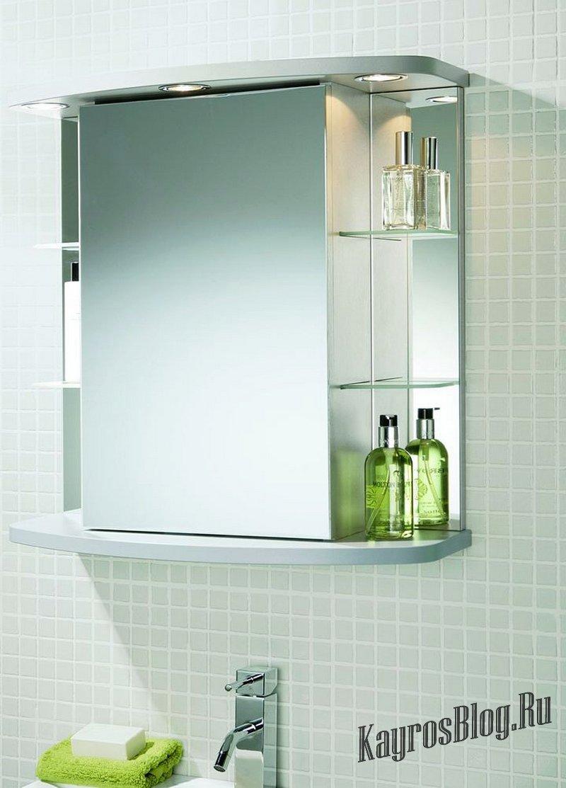 Зеркало в ванную с полками своими руками фото 893