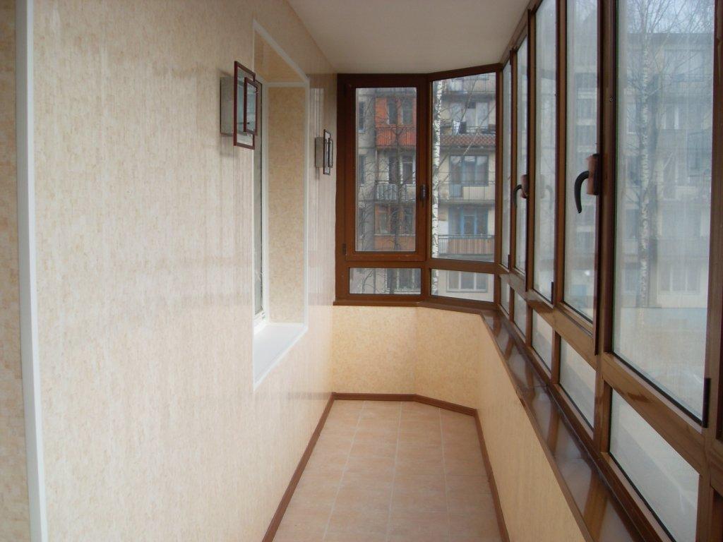 Отделка балконов и лоджий - работы, требующие необходимой кв.