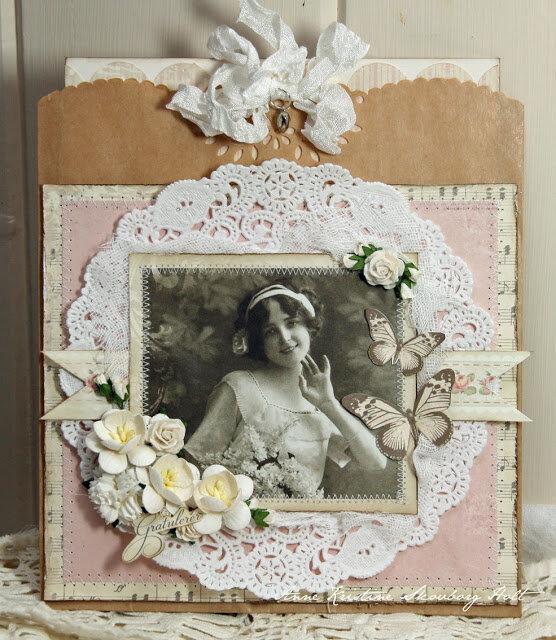 Открытка фото, открытка в старинном стиле