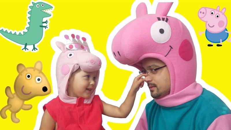 СВИНКА ПЕППА Peppa Pig Мультики для детей Сезон 1 Видео без остановки Все серии подряд Папа Свин