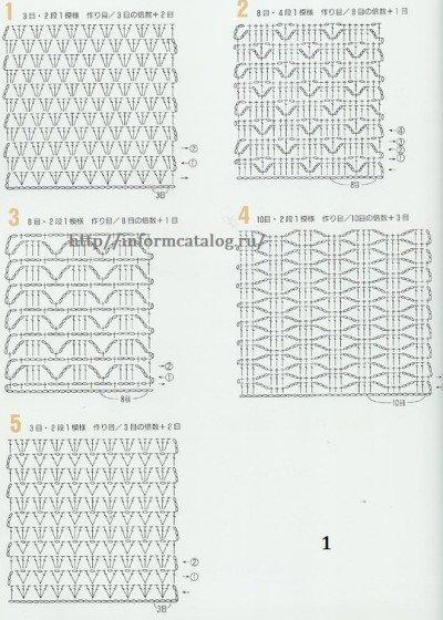 Схемы ажурных изделий