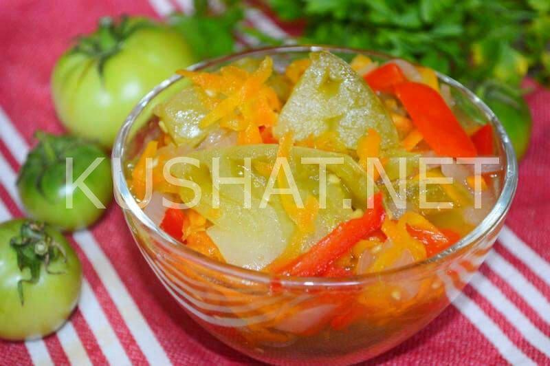 Салат из помидоров с картофелем фото