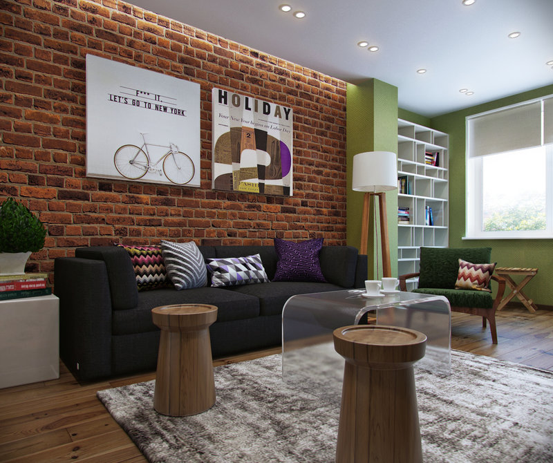 Дизайн мужской комнаты создается на базе основного цвета, который подбирается вОднако такой вариант возможен только в том случае, если подход к формированию интерьера комнаты для мужчины был грамотным и в итоге в небольшом пространстве не образовался коллаж