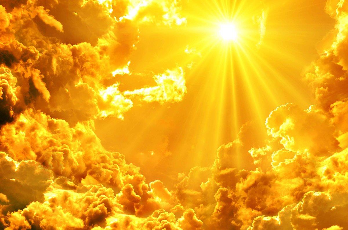 Картинка яркий свет с неба