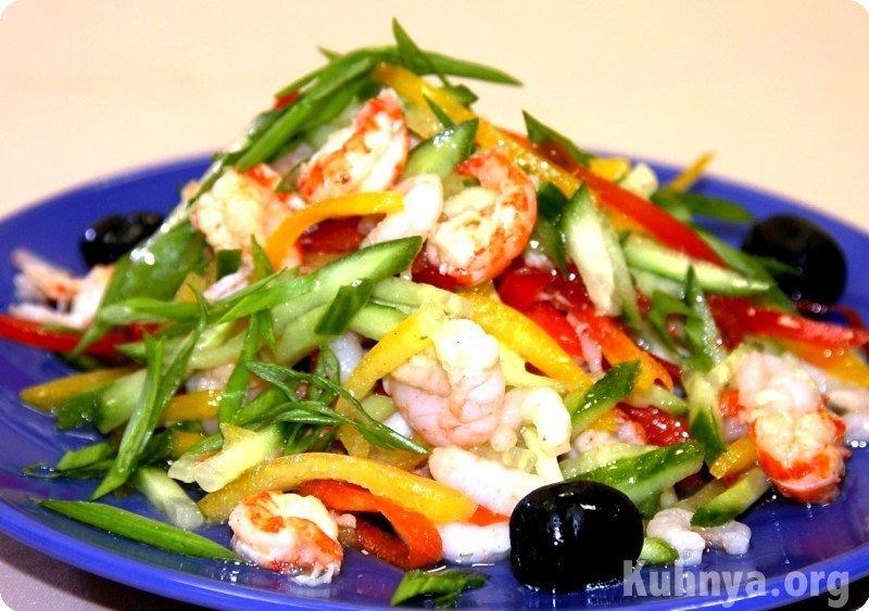 Салат из яиц и рис