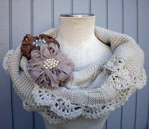 Схема оригинальный шарф