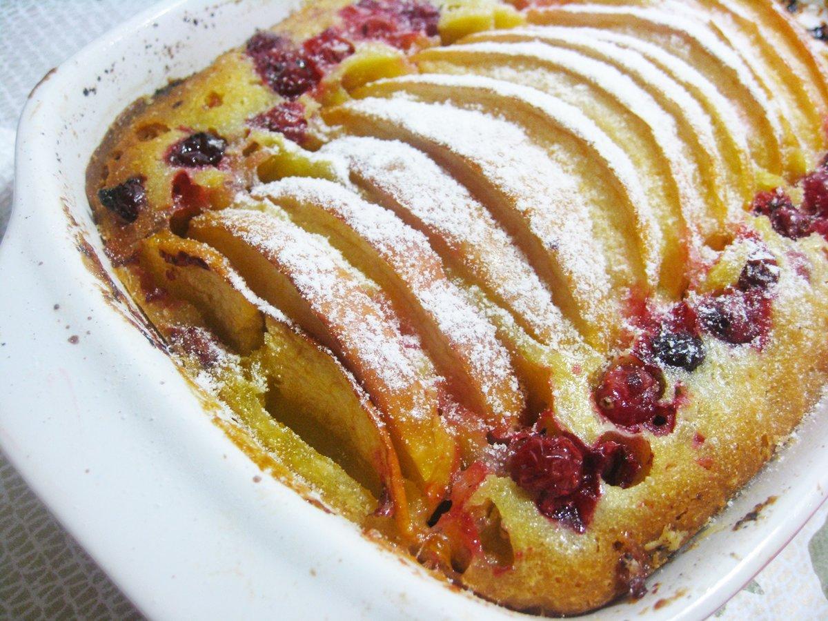 сфотографированная полностью клюквенный пирог рецепт с фото кому