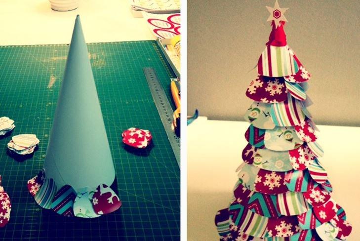 Картинки из бумаги и картона своими руками на новый год, смешных