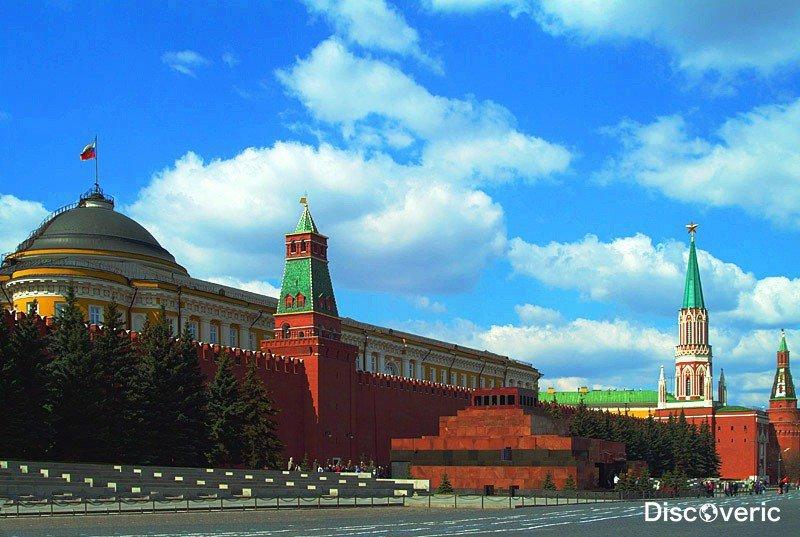 Московский Кремль - достопримечательности России