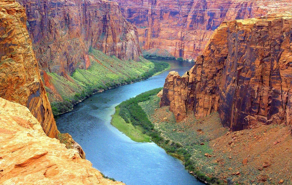 an analysis of the colorado river in american geography Overviews colorado geography, topography, geographic land regions, land areas, major rivers, and colorado four geologic regions colorado is located in the center of the western half of the continental united states and is the eighth largest state its average elevation of 6,800 feet is the.