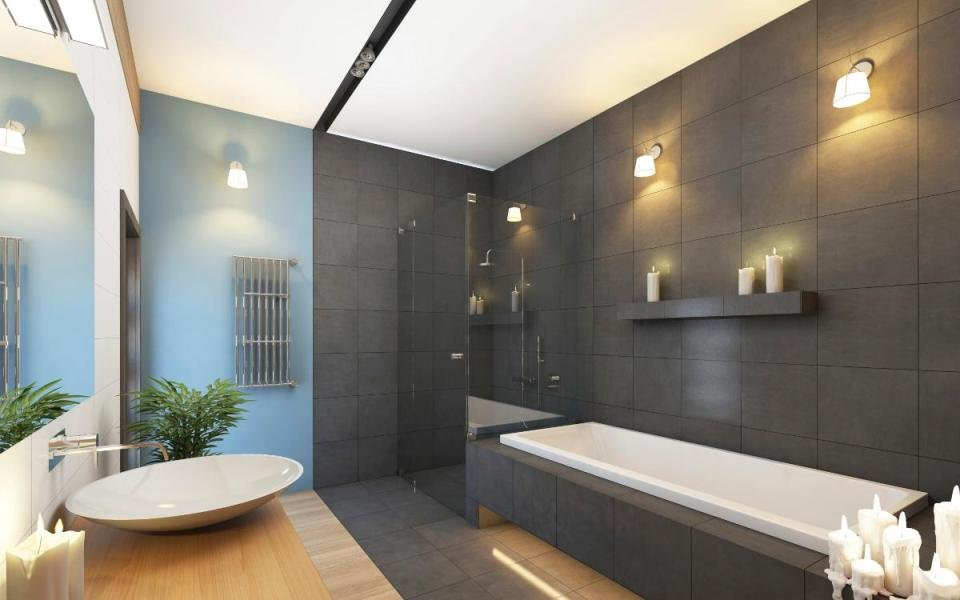 ванных дизайн фото освещения комнат