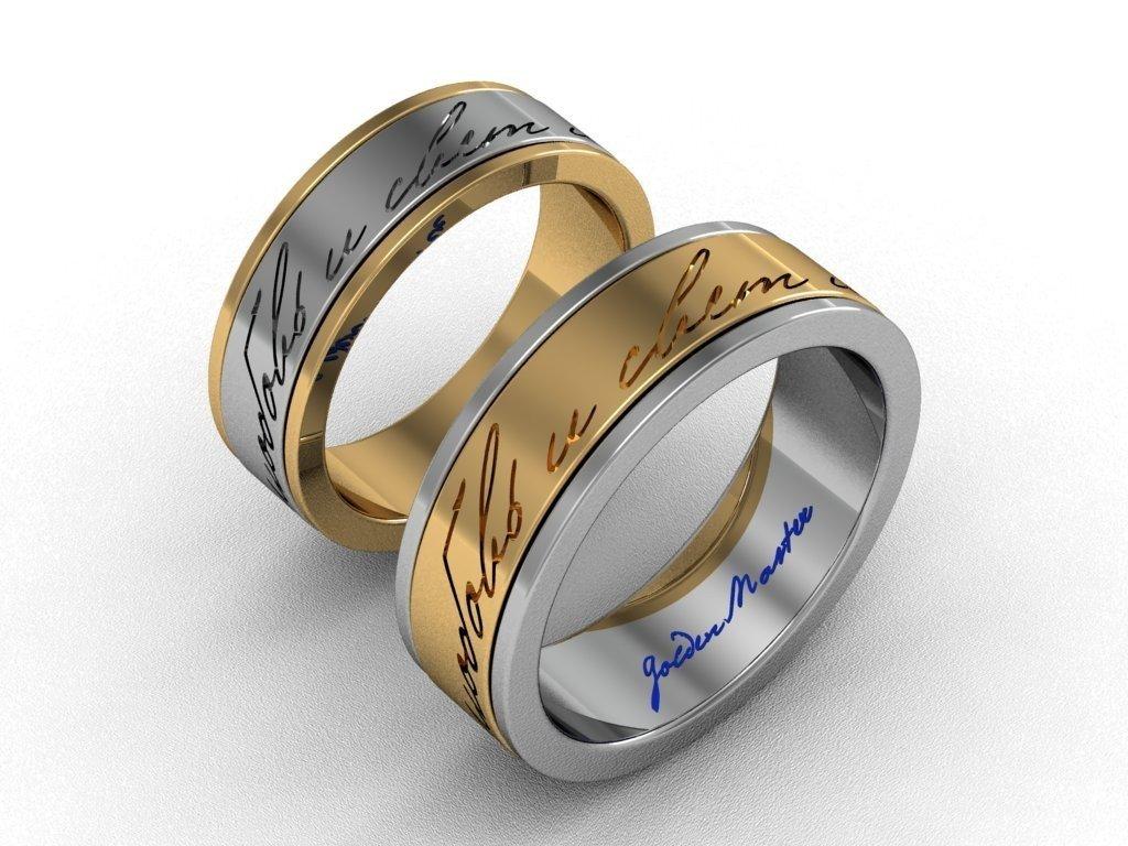 характер необычные обручальное кольца с картинками течении мероприятия