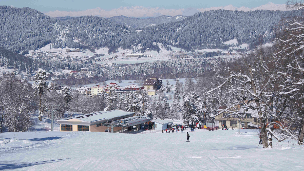 бакуриани горнолыжный курорт фото собой