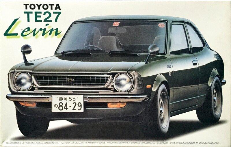 Fujimi Toyota TE27 Levin