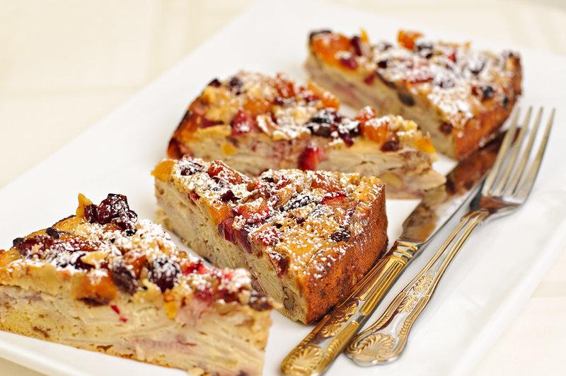 Фруктовый пирог рецепт с фото пошагово