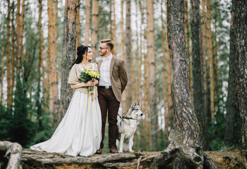 Неординарная свадьба в стиле бохо