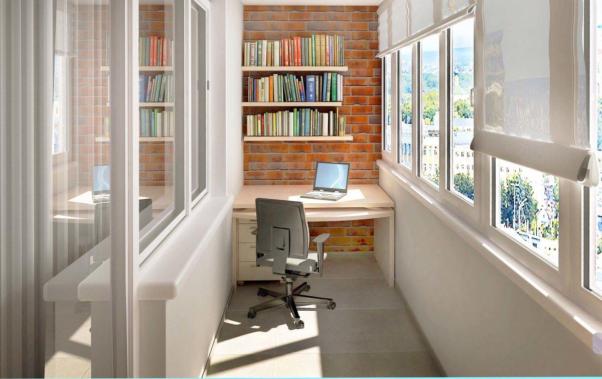 """Уютное рабочее место на балконе"""" - карточка пользователя len."""