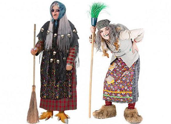 Как сделать костюм Бабы Яги своими руками - ФОТО 6