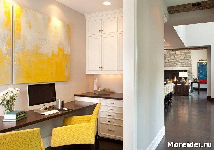 Рабочий кабинет в квартире – необходимость, а не прихоть. Но как обустроить его в жилище, где такое помещение не запланировано?