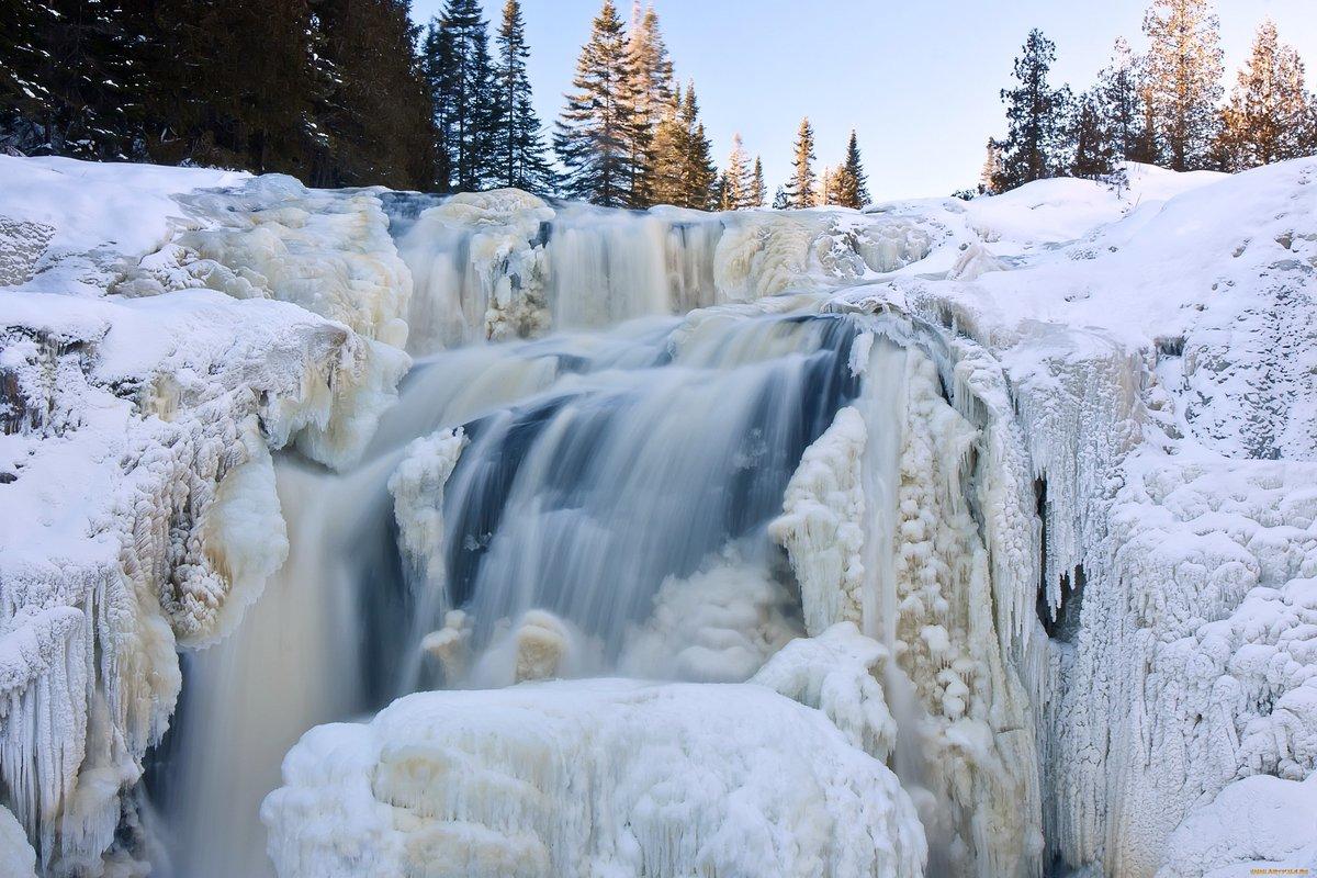 словно фото зимних водопадов реки камбилеевка протяженности