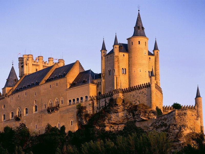 "Castle in Spain "" Architecture "" OldtimeWallpapers.com - ..."
