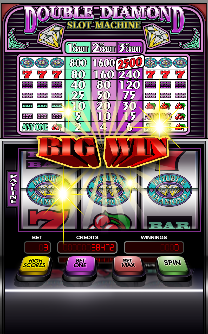 Slot machine diamond