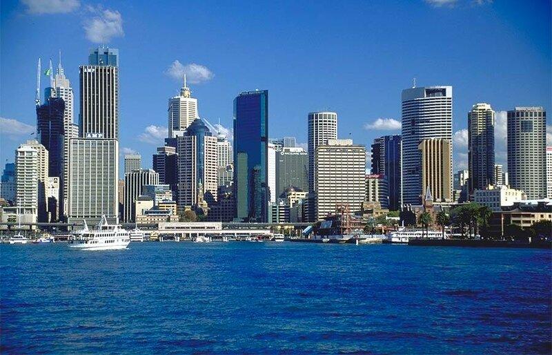 Многоэтажки Сиднея