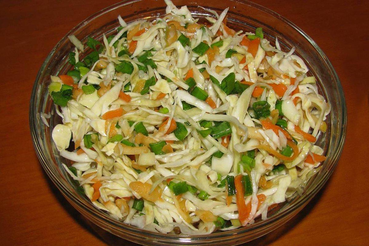 салат из свежей капусты провансаль