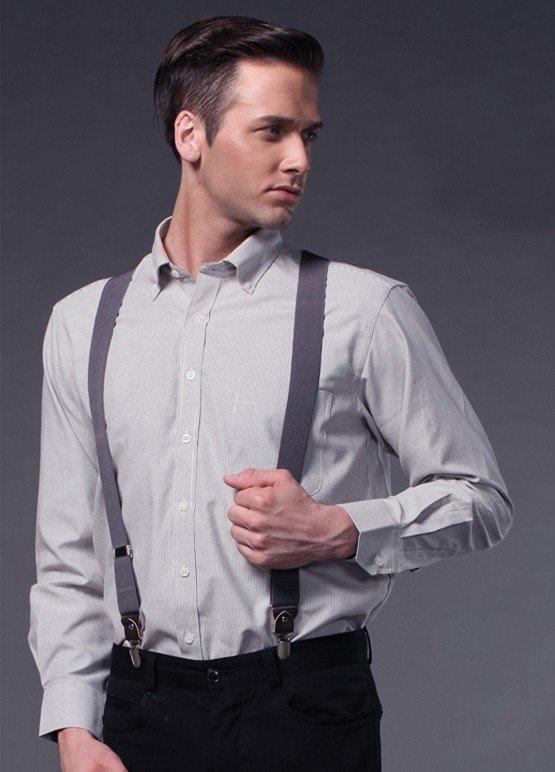 Рубашка с подтяжками мужские фото
