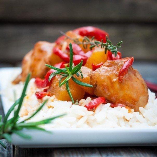 рецепт филе куриного в кисло-сладком соусе по-китайски Арабских Эмиратах произошел