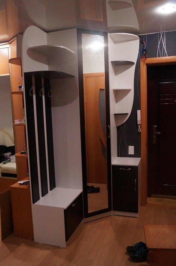 Угловая прихожая по индивидуальным размерам. мебель для всех.