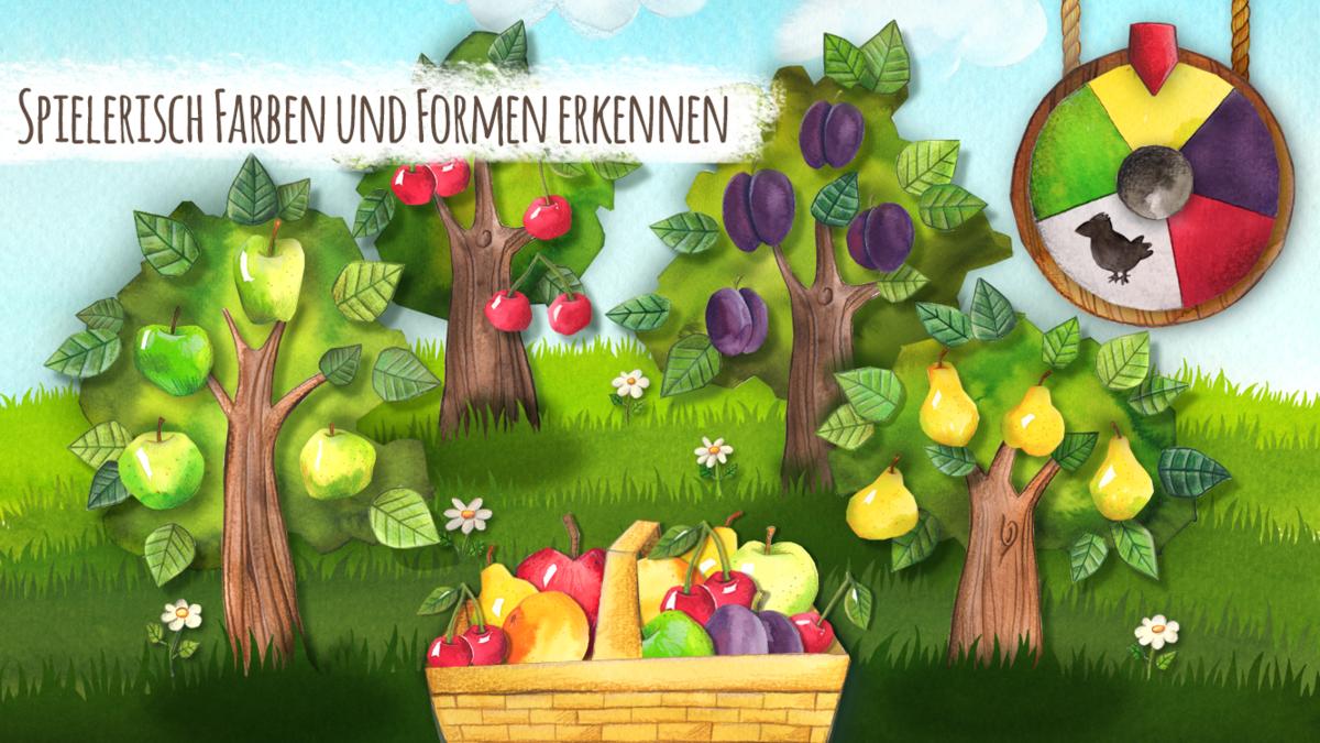 одной картинка фруктового сада без фруктов прочтения
