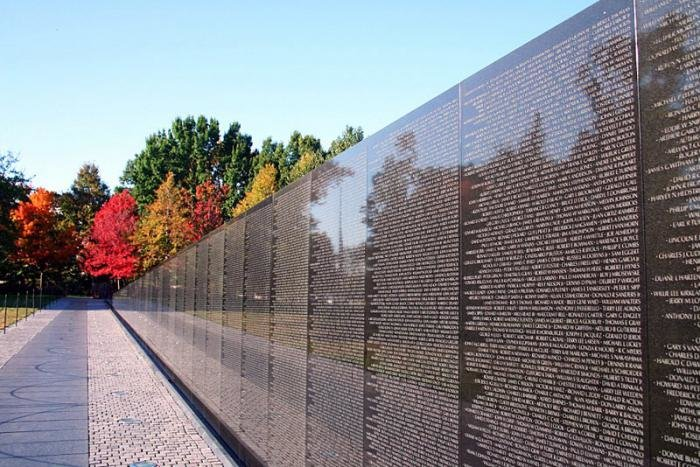 the vietnam veterans memorial wall 273 reviews of vietnam veterans memorial beautiful yet simple memorial the vietnam veterans memorial is emotional and touching the wall list the names of more than 58,000 americans who lost their lives during this war.