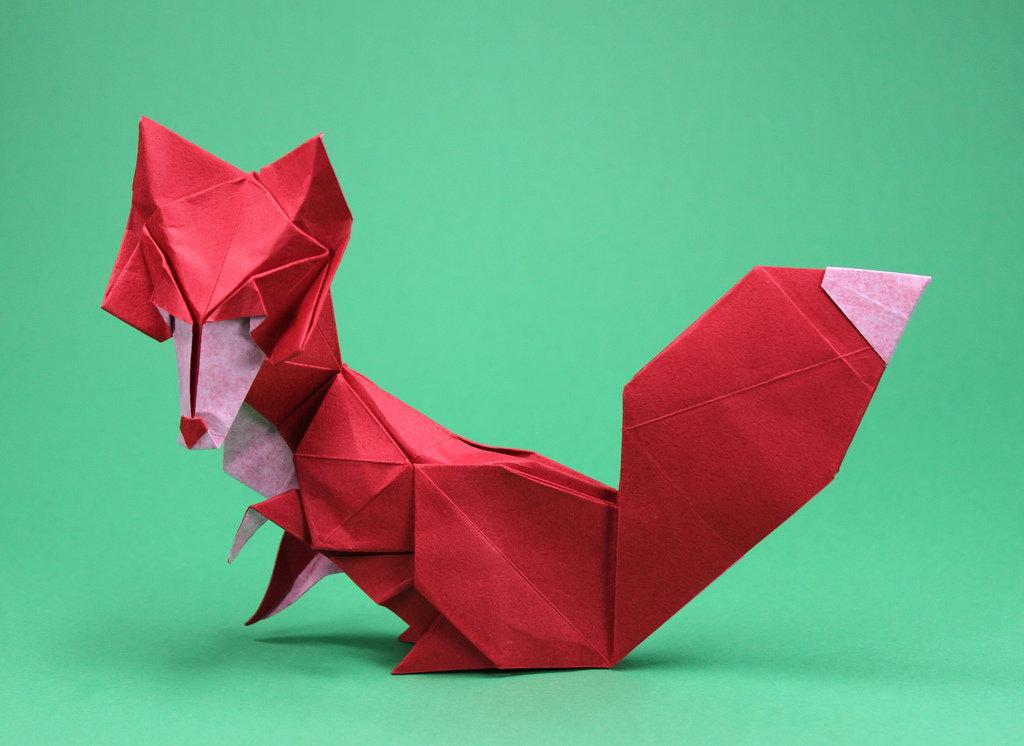 картинка фигурки из оригами копирайтер