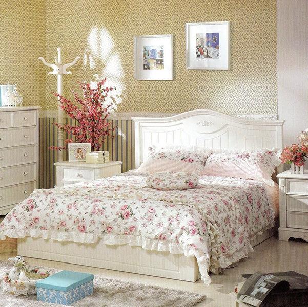 Спальня в стиле прованс – это, прежде всего романтическая спальня, спальня для влюбленных.