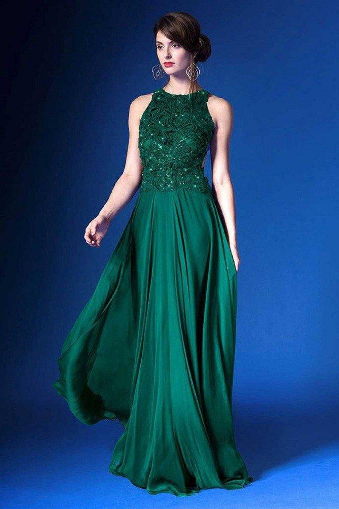 Платья изумрудного цвета сшить фото 215