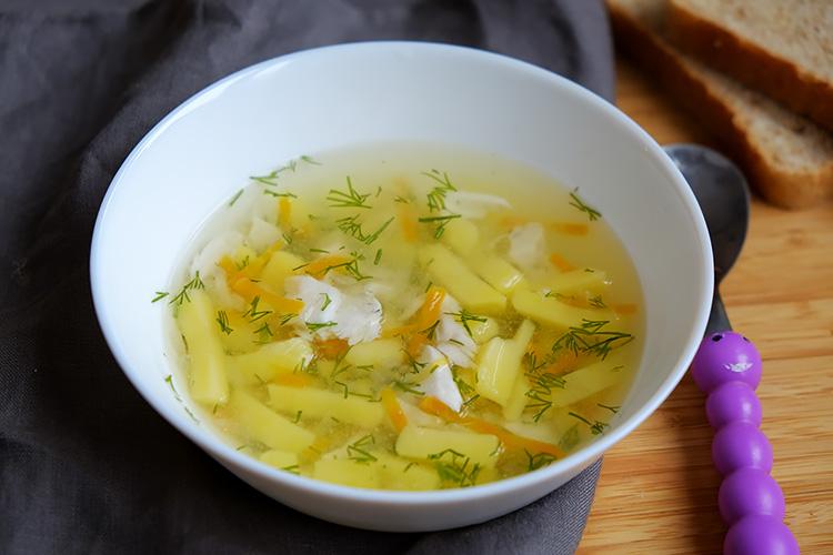 Рыбный суп для детей от года рецепт