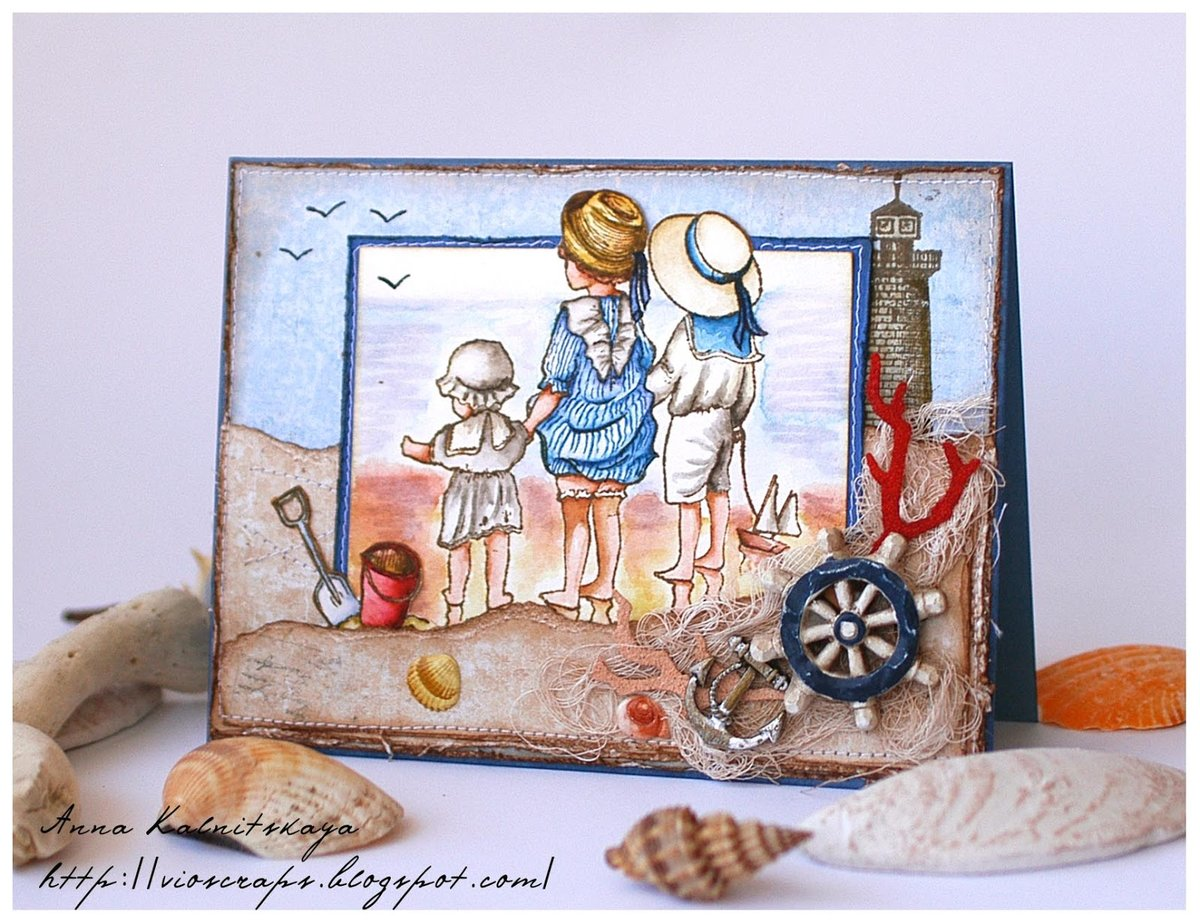 Девятому мая, картинки на морскую тему для открыток
