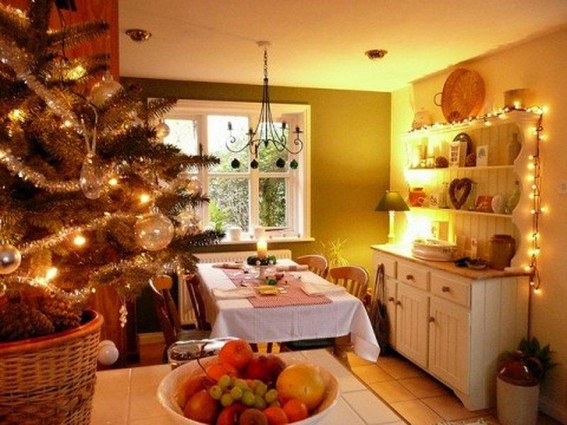 Картинки украсить дом к новому году