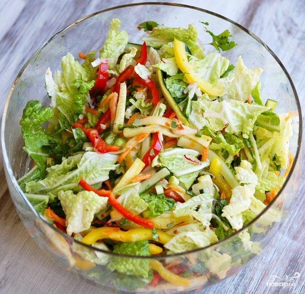 Фото салат идилия